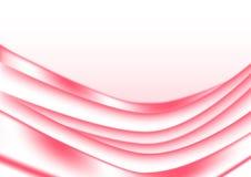 Fondo rojo brillante de las curvas del extracto stock de ilustración