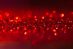 Fondo rojo centelleado - la Navidad Fotografía de archivo libre de regalías