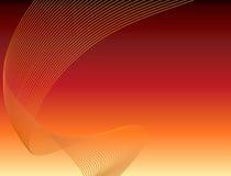 Fondo rojo de arte abstracto ilustración del vector