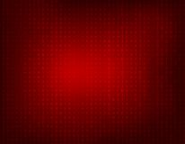 Fondo rojo de código binario Foto de archivo