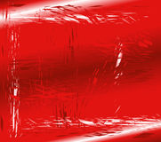 Fondo rojo de cristal quebrado Fotos de archivo