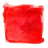 Fondo rojo de Grunge Fotografía de archivo