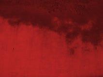 Fondo rojo de Grunge Foto de archivo libre de regalías