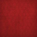 Fondo rojo de Grunge con el ornamento antiguo Imagen de archivo libre de regalías