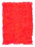 Fondo rojo de la acuarela Fotos de archivo libres de regalías