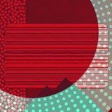 Fondo rojo de la cartelera Imágenes de archivo libres de regalías