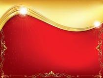 Fondo rojo de la celebración para cualquier ocasión Imagen de archivo
