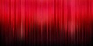 Fondo rojo de la cortina Foto de archivo