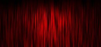 Fondo rojo de la cortina de la etapa Imágenes de archivo libres de regalías