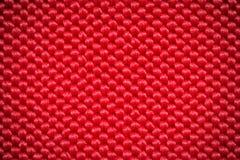 Fondo rojo de la fibra Fotografía de archivo libre de regalías