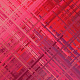 Fondo rojo de la interferencia Fotos de archivo