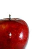 fondo rojo de la manzana Fotos de archivo