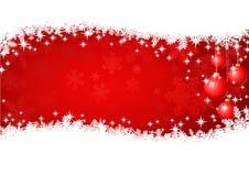 Fondo rojo de la Navidad libre illustration