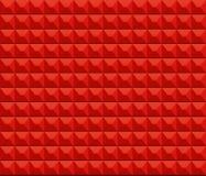 Fondo rojo de la pared de la textura Foto de archivo libre de regalías
