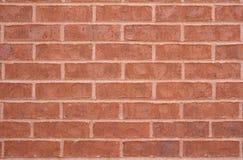 Fondo rojo de la pared de ladrillo Fotografía de archivo
