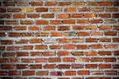 Fondo rojo de la pared de ladrillo fotografía de archivo libre de regalías