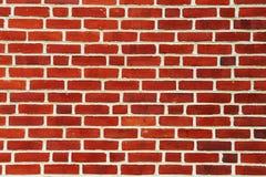 Fondo rojo de la pared de ladrillo Imagen de archivo libre de regalías