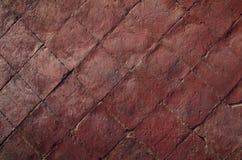 Fondo rojo de la pared de ladrillo Imagenes de archivo
