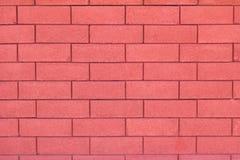 Fondo rojo de la pared de ladrillo del encanto Fotografía de archivo