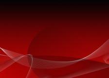 Fondo rojo de la pendiente Fotos de archivo