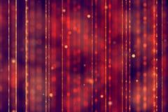 Fondo rojo de la pendiente abstracta de la Navidad con el flowin rojo del bokeh imagenes de archivo
