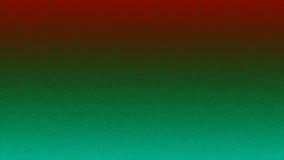 Fondo rojo de la pendiente y verde granoso Fotografía de archivo