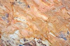 Fondo rojo de la roca Fotografía de archivo