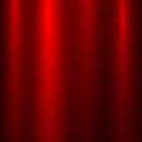 Fondo rojo de la tecnología del metal Imágenes de archivo libres de regalías
