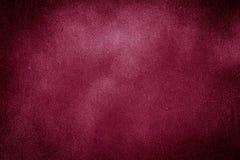 Fondo rojo de la textura de Borgoña Fotografía de archivo