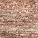 Fondo rojo de la textura de la pared de ladrillo fotografía de archivo libre de regalías