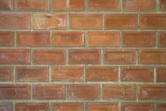 Fondo rojo de la textura de la pared de ladrillo Foto de archivo