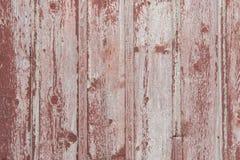 Fondo rojo de la textura del tablero del granero Imagenes de archivo
