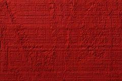 Fondo rojo de madera del granero Foto de archivo