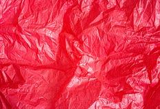 Fondo rojo de papel de pergamino stock de ilustración