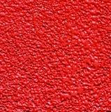Fondo rojo de piso de acero de la textura Imágenes de archivo libres de regalías