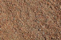 Fondo rojo del área de la pista de aterrizaje del béisbol Fotos de archivo libres de regalías