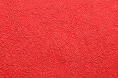 Fondo rojo del Año Nuevo de la textura de papel tradicional Imagenes de archivo