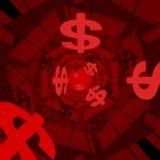 Fondo rojo del dinero libre illustration