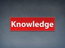 Fondo rojo del extracto de la bandera del conocimiento stock de ilustración