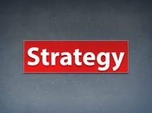 Fondo rojo del extracto de la bandera de la estrategia ilustración del vector