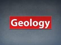 Fondo rojo del extracto de la bandera de la geología libre illustration