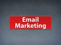 Fondo rojo del extracto de la bandera del márketing del correo electrónico libre illustration