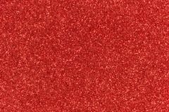 Fondo rojo del extracto de la textura del brillo Foto de archivo
