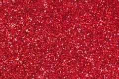 Fondo rojo del extracto de la textura del brillo Fotografía de archivo libre de regalías