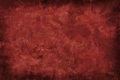 Fondo rojo del grunge Fotografía de archivo libre de regalías