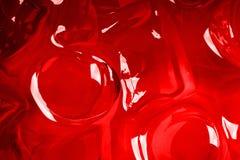 Fondo rojo del hielo Fotos de archivo libres de regalías
