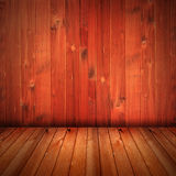 Fondo rojo del interior de la casa de la textura del wod imagenes de archivo