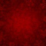 Fondo rojo del invierno Imagen de archivo