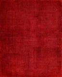 Fondo rojo del paño Foto de archivo libre de regalías