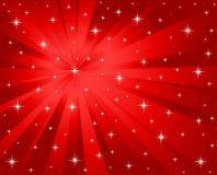Fondo rojo del vector Imagen de archivo libre de regalías
